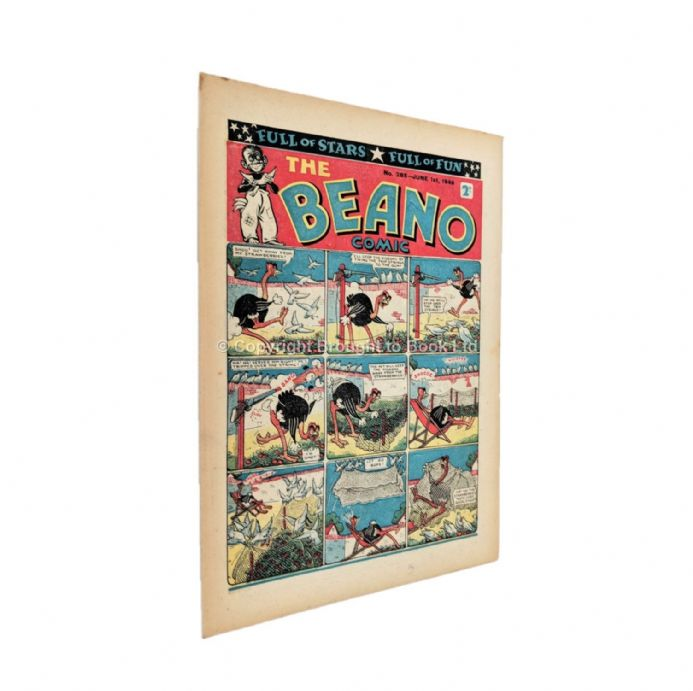 The Beano Comic No. 285 June 1st 1946 Published by D.C. Thomson